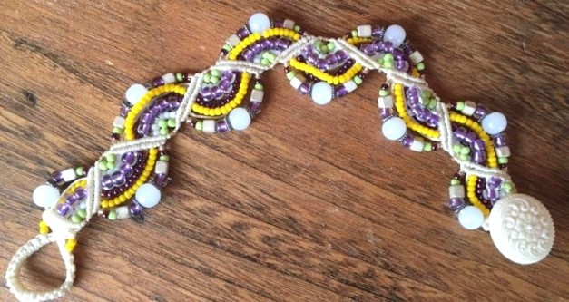 Passion flower Bracelet by Lena